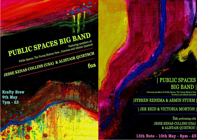 Public Spaces Flyers